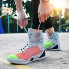 Fashion Man High-top High Casual Sneakers Shoes non-slip  Basketball shoes