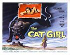 Cat Girl 1957 Stretched Canvas Art Movie Poster Film Print Barbara Shelley Sc-Fi