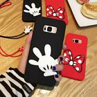 3D Minnie Mickey Soft Silicone Case Back Cover For iPhone For Samsung Galaxy