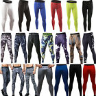 cdp layer - Men Apparel Compression Tight Base Layer Pants Long Leggings Gym Sports Trousers