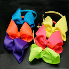 Neon Bright Large Bow Head Band