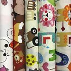 "Prestigious Children's Kids 100% Cotton Fabrics 137cm/54"" Wide 5 Designs Animals"