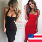 Women's Summer Casual Sleeveless Evening Party Cocktail Beach Short Mini Dress