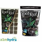 Growth Technology Root Riot Propagation Plant Starter Cubes Tray Hydroponics
