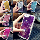 Dynamic Quicksand Glitter Bling Liquid Star Case Cover For iPhone 4/5/6/7/Plus