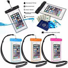 Waterproof Underwater Dry Pouch Bag Case Fluorescent Cover for iPhone 7/6S/6