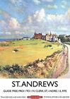 ST. ANDREWS FIFE GOLF COURSE POSTER METAL PLAQUE WALL SIGN VINTAGE NOSTALGIC 408
