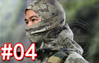 Outdoor Hunting / Fishing / Tactical Camouflage Full Face Balaclava Mask - Army