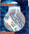 Mason GREAT WATER Braided Dacron Polyester Green Dot Line 500 Yds 12lb - 130lb