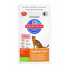 Hills Science Plan Feline Adult Optimal Care With Rabbit Dry Cat Food