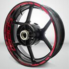 Motorcycle Rim Wheel Decal Accessory Sticker for Triumph Speed Triple 1050 $53.07 USD on eBay