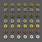 DIY Jewelry Making Daisy Flower Snowflake Shaped Spacer Beads 4mm 6mm 8mm