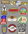 VINTAGE OLD SCHOOL MOTORCYCLE DEALERS DECAL $5.0 USD