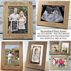 Personalised Photo Frame Gift All Occasions ENGRAVED 5x7 Keepsake Family Baby