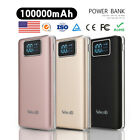 Внешний вид - Ultrathin 100000mAh Portable Power Bank LCD External Backup Battery Charger Pack