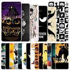 "For LG G6 5.74"" Halloween Hard Case Cover Bat Cat Pumpkin Ghost Party Witch"