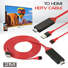 USB HDMI Cable Adapter iOS Phone to TV for iPad iPhone 12 11 6 7 8 Plus X MAX XR