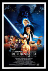 Star Wars Return of The Jedi FRIDGE MAGNET 6x8 Movie Poster on a Magnetic Canvas