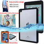"Waterproof Shockproof Snowproof Hard Crystal Clear Case for iPad Pro 9.7""/ Air 2"