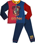 Boys - Harry Potter Gryffindor Long Sleeve Pyjama Set PJ Nightwear Sleepwear
