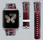 Atlanta Falcons Apple Watch Band 38 40 42 44 mm IWatch PU Leather Strap 184 on eBay