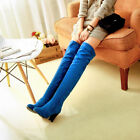 snow boots for ladies - Ladies faux suede shoes Knee High Boots Warm Snow size