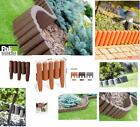NEW 2.7m Lawn Edge Palisade Border Garden Edging Fencing Frost Proof / 15cm High