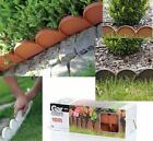 Edge Border Palisade Fence Lawn Garden Edging Fencing Frost Proof Length 10m UK
