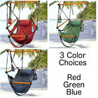 Air Hammock Hanging Patio Tree Sky Swing Chair Outdoor Porch Lounge Patio Deck