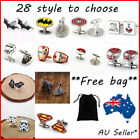 Hot SuperHero The Avengers Star Wars Style Cufflinks Mens wedding party gifts $5.38 USD