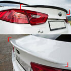 Rear Trunk Lip Spoiler Black White Graphite For Kia Optima K5 2014-2015