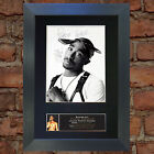 TUPAC 2PAC SHAKUR Signed Autograph Mounted Photo Repro A4 Print 664