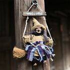 1Pc Halloween Party Scary Witches Black Hat Person Retro Ornaments Hanging Props