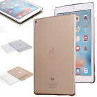 For Apple iPad Pro 9.7 Crystal Clear Shockproof Case Soft / Hard Back Skin Cover
