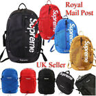 Large Supreme Travel Backpack School Shoulder Bags Waterproof Laptop Unisex UK