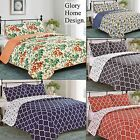 Florence - 3 Piece Set ,Glory Home Designs Reversible Quilt & Shams