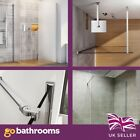 Oxbridge Walk in Shower Enclosure 10mm Glass Wetrooms The Bath People