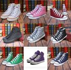 HOT STARs Men's/woman High help  shoes breathable  casual Canvas Sneakers