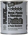 Flitz CA 03518-6 Blue Metal, Plastic and Fiberglass Polish Paste, 2.0 lbs.