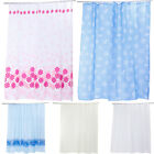 Colorful Fabric Shower Curtains Extra Long/Wide 2 Different Sizes
