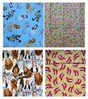 Fabric material Wizard of OZ  or Flannel Frogs Peace
