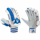 adidas Vector Cricket Batting Glove Mens Adult White/Blue