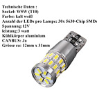 LED T10 Soffitte Canbus SMD COB W5W C5W Standlicht Lampen Innenraumbeleuchtung