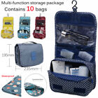 Portable Travel Makeup Toiletry Wash Case Organizer Pouch Storage Hanging Bag