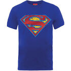 Superman T-Shirt - Classic Comic Book Shield DC Comics Great gift for any fan