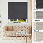 Grey Wood Venetian Blinds - Choice of Four Greys - Made To Measure with Cords