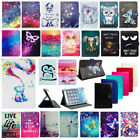For 7* -10.1* Tablets Cute Duck Universal Folio Stand PU Leather Case Cover Gift
