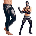 Men's Faux Leather Wet Look Tight Pants Leggings Long Trousers Night Club Party