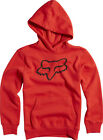 FOX BOYS LEGACY PULLOVER HOODY - RED