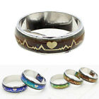 1pcs Titanium Mood Ring Temperature Color Changing Emotion Feeling Band Ring